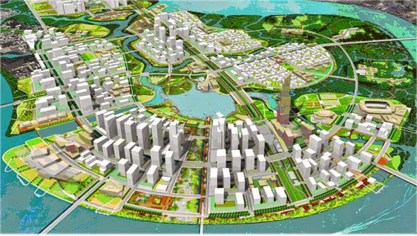 Thu Thiem New Urban Area Technical Infrastructure Project