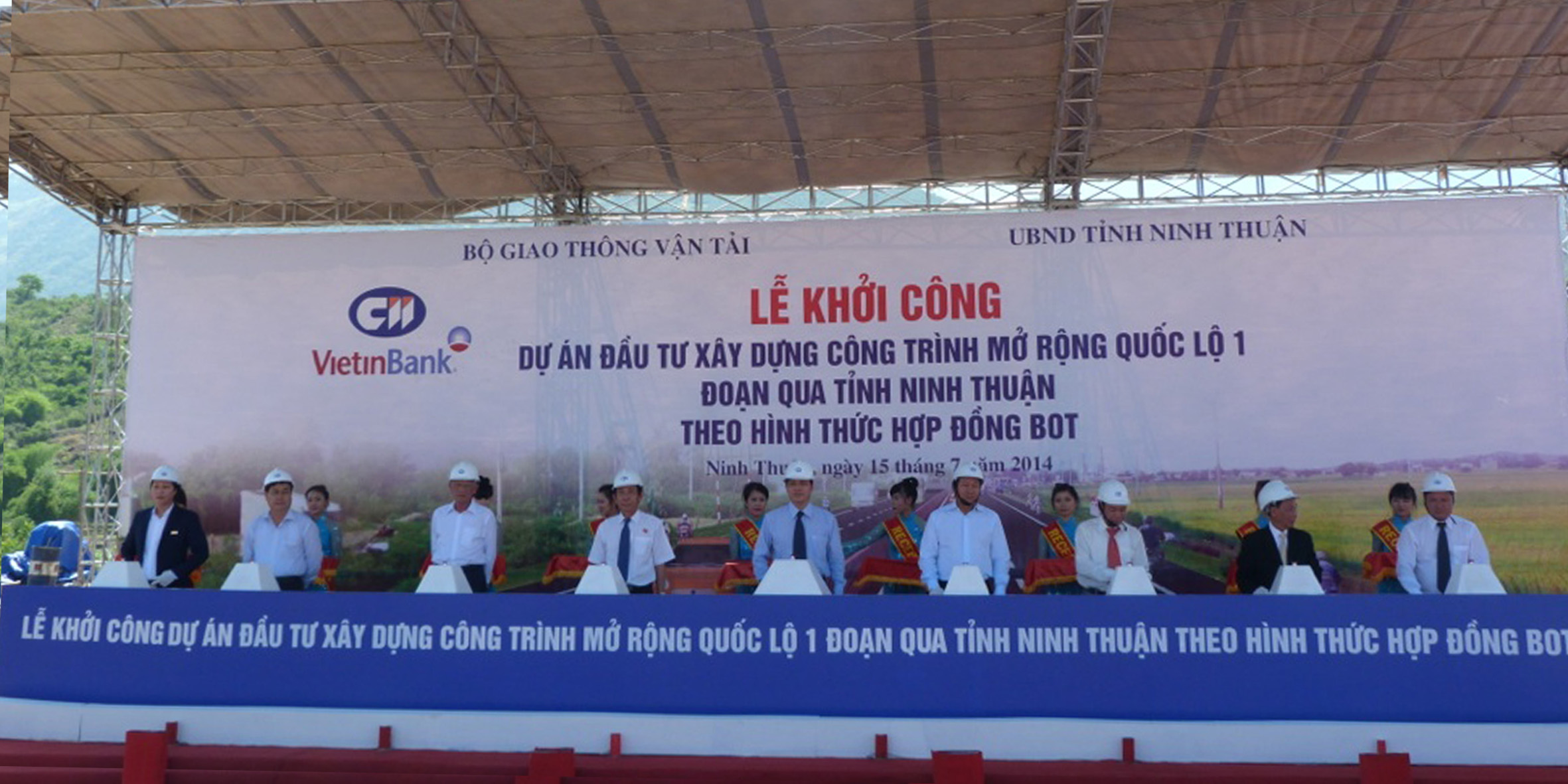 1A National Road in Phan Rang  - Ninh Thuan expanding project