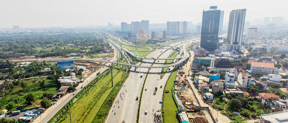Hanoi Highway Expanding Project.